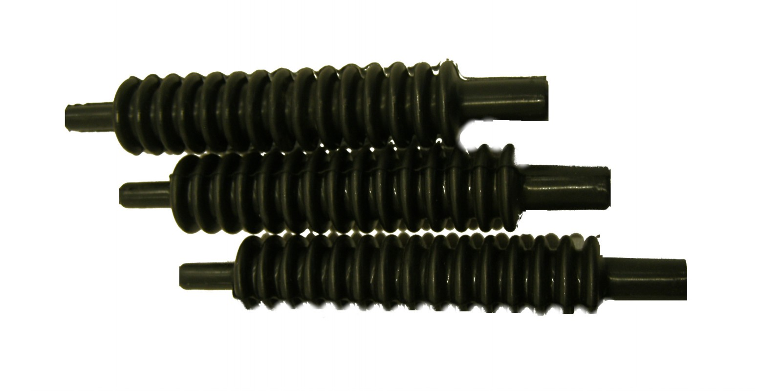 Rubber bellows for cable system unimog